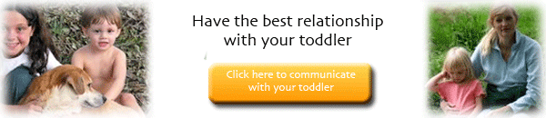 Relationship with your toddler