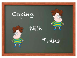 coping with twin toddlers
