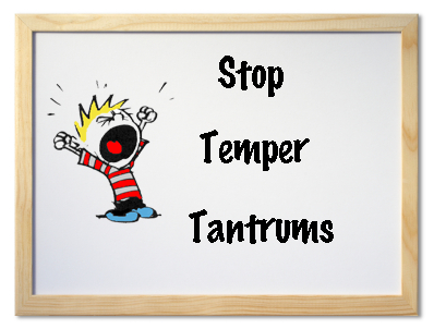 preventing terrible twos temper tantrums