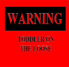 How to sucessfully give a warning to your toddler